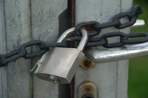Castle, Chain, Padlock, Secure, Closed, Blocked, To