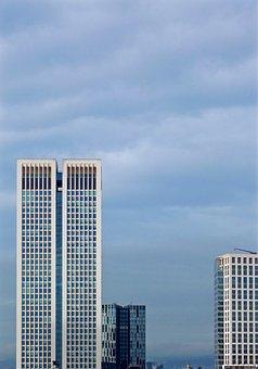 Facade, Skyscraper, Architecture, Building, Skyscrapers