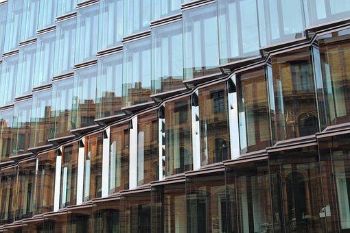 Berlin, Modern, Facade, Capital, Building, Architecture