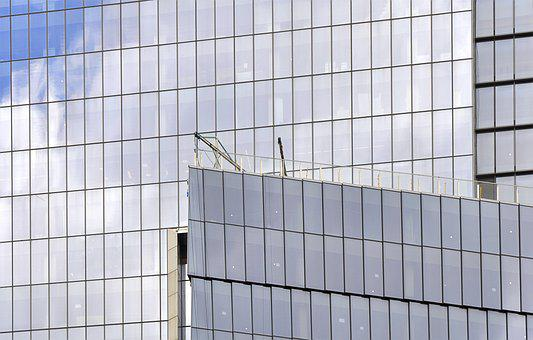 Architecture, Glass, Steel, Building, Modern, Facade