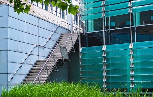 Architecture, Facade, Building, Modern, Düsseldorf