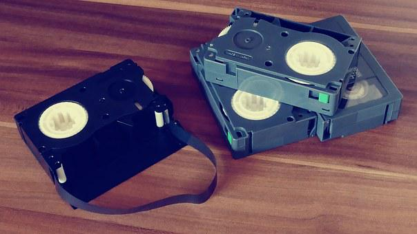 Video, Tapes, Movie, Old, Retro, Cassette, Film, Camera