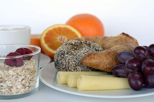 Breakfast, Coffee, Oranges, Cheese, Roll, Summit