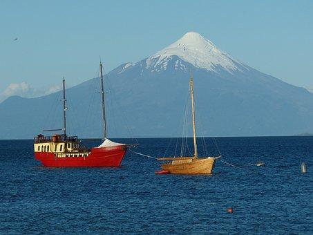 Chile, South America, Puerto Varas, Mountain, Volcano