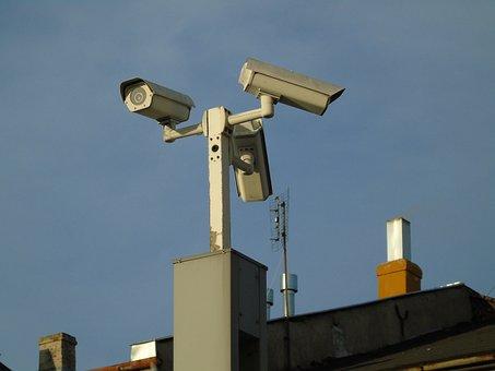 Monitoring, Camera, City, Video, Security Camera