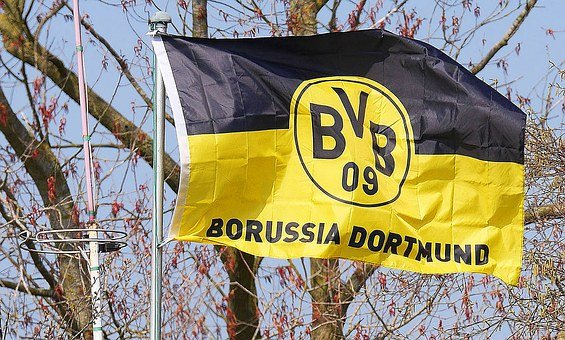 Bvb, Club Flag, Black Yellow, Borussia Dortmund, Fan
