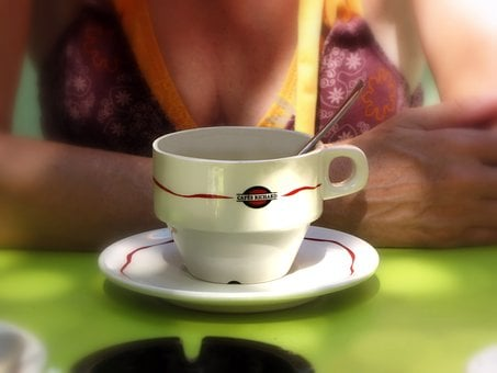 Coffee, Coffee Break, Cup Of Coffee, Cup And Saucer