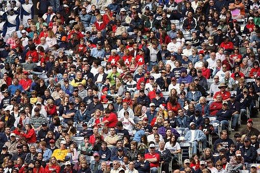 Crowd, Sports Fans, Spectators, Stadium, People