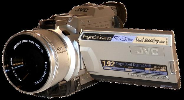Video Camera, Cassette, Digital