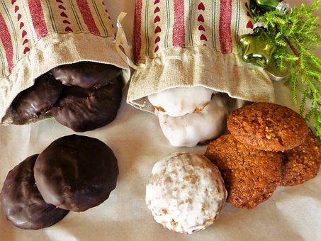 Gingerbread, Elisen Gingerbread, Gluten Free, Christmas
