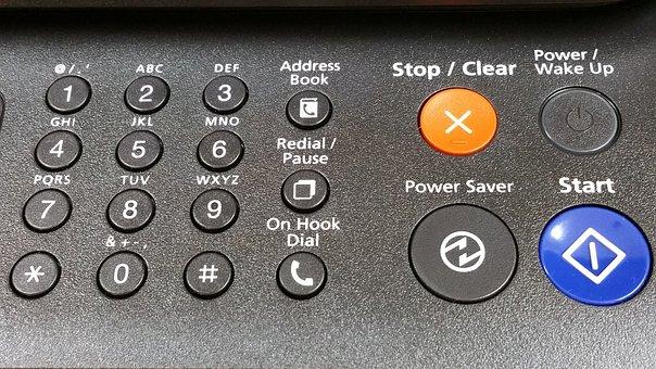 Informatica, Keyboard, Key, Keys, Fax, Phone