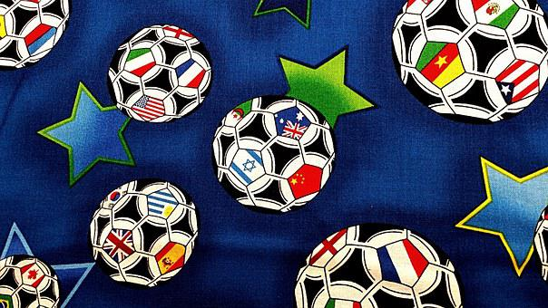 Textile, Football, Soccer, Fabric, Cloth, Clothing