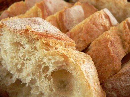 Bread, Food, Bakery, Fresh, Wheat, Organic, White