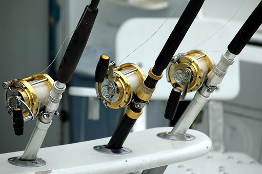 Fishing Reels, Rod, Equipment, Game Fishing, Sport