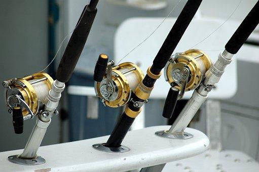 Fishing Reels, Rod, Equipment, Game Fishing, Sport