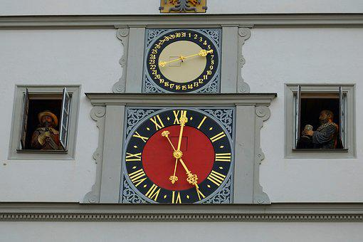 Clock, Glockenspiel, Places Of Interest, Ring, Sound
