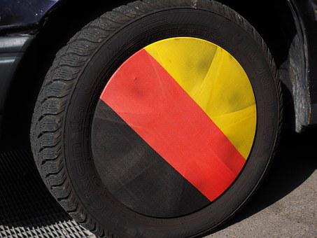 Rim, Germany Colors, Flag, Black, Red, Gold, National