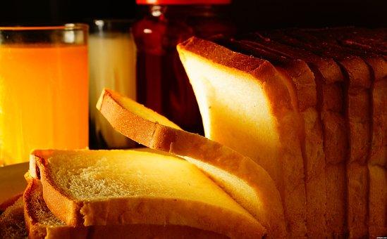 Bread, Breakfast, Juice, Jam, Food, Meal, Healthy