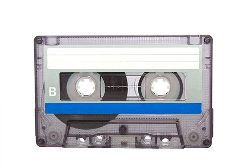 Cassette Tape, Plastic, Tape, Audio, Recording, Isolate