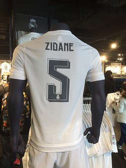 Jersey, Zidane, Real Madrid, Legend, Shop, Fan Store