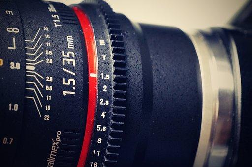 Sony, Lens, Walimex, Camera, Focal Length, Close, Video