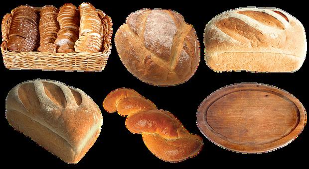 Bread, Loaf, Baguette, Muffin, Baking, Breadbasket