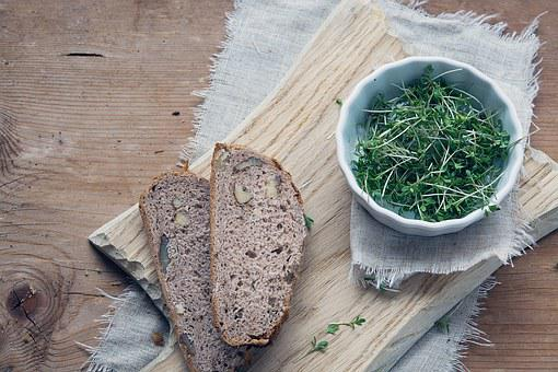 Cress, Green, Natural Product, Bread, Country Bread