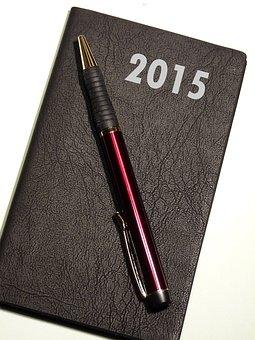 Calendar, Year, New Year's Eve, New Beginning