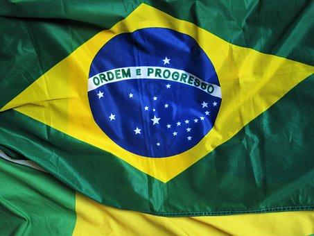 Brazilian Flag, Ordem E Progresso, Olympiad In Brasil