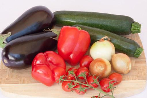 Vegetables, Paprika, Red, Green, Red Pepper, Food