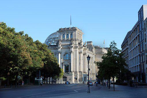 Reichstag, Bundestag, Berlin, Germany, Glass Dome
