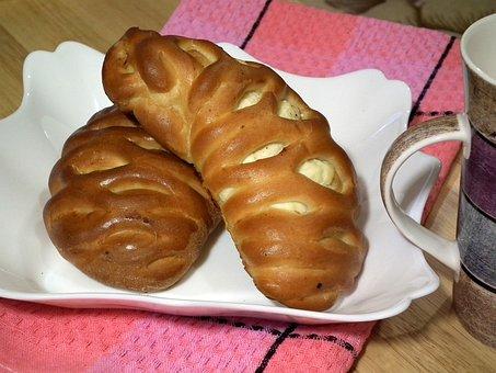 Bread, Baking, Roll, Buns, Breakfast, Paste Products