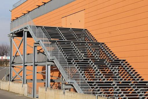 Fire Ladders, Safety Ladders, Safety, Stairs, Mall