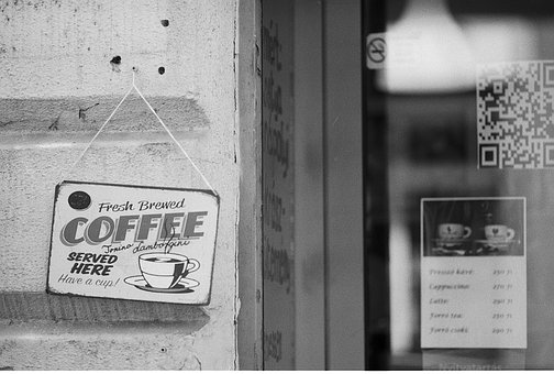 Coffee, Fresh, Sign, Drink, Hot, Espresso, Cafe