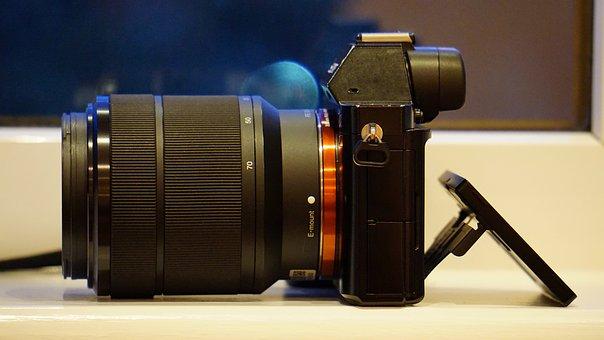 Sony, Camera, Digital, Lens, Technology, Video