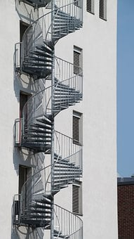 Spiral Staircase, Stairs, Gradually, Staircase