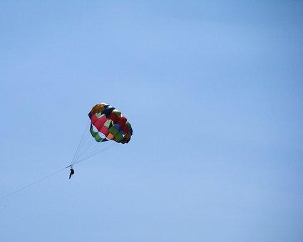 Parachute, Activity, Parasailing, Sport, Adventure