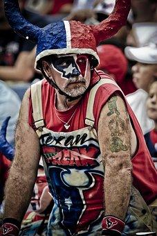 American Football Fan, Sports Fan, Supporter, Sport