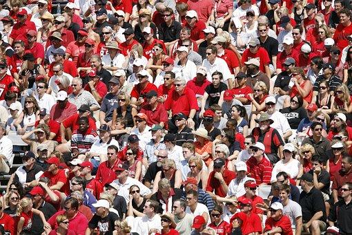 Spectators, Crowd, Stadium, Sports Fans, Fans