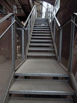 Stairs, Gradually, Rise, Staircase, High, Step By Step