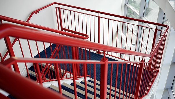 Stairs, Stairwell, Stairway, Staircase, Construction