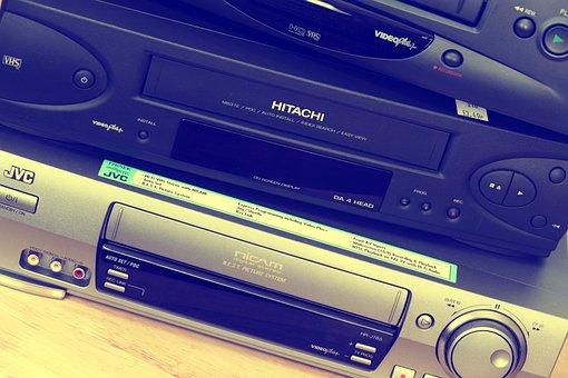 Video, Recorder, Technology, Old, Tape, Plastic, Retro