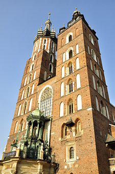 Kraków, The Market, Old, City, Old Town, Monuments