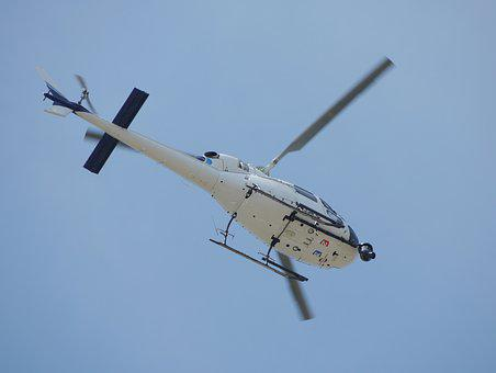 Helicopter, Flying, Filming, Aerial, Transport
