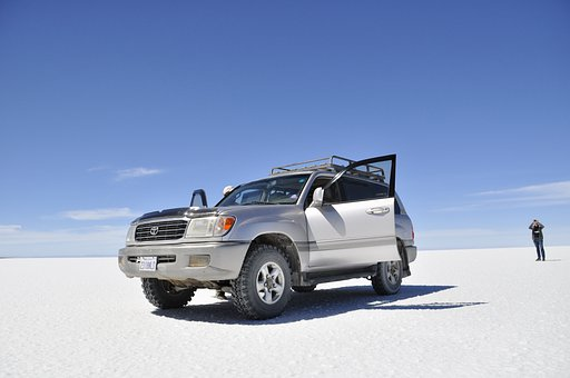 Bolivia, Uyuni, 4 Wheel Drive, Jeep, South America