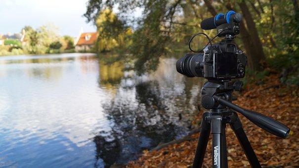 Camera, Film, Video, Equipment, Vista, Water, Picture