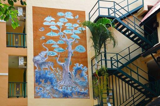 Wall Art, Street Art, Wall, Graffiti, Street, Paint