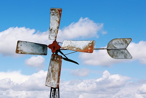 Pinwheel, Propeller, Wind Power, Wind Turbine