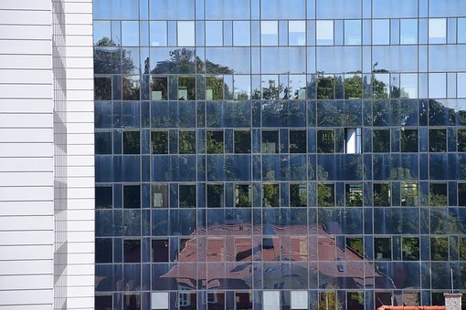 Mirroring, Window, Facade, Glass, Architecture