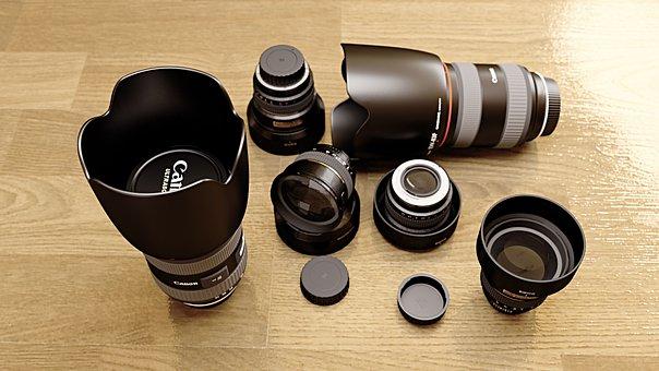 Camera, Lense, Photography, Zoom, Focus, Video, Studio